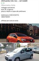 Noleggio auto Sicilia