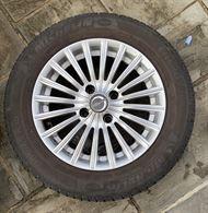 4 cerchi in lega Citroen C3+ gomme usate 15' Michelin