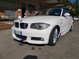 BMW serie 1 cabriolet M sport diesel tratt.
