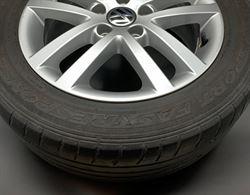 Cerchi R16 VW in lega con Gomme Dunlop