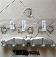 Collettore scarico BMW 525d 530d X3 x5 730d ghisa nuovo
