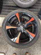 Cerchioni nuova Nissan Micra R17 grigio - arancione