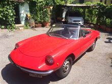 Alfa Romeo Duetto Spider Junior 1300 del 1972 ASI