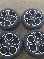 Cerchi 19 bicolore e gomme Renault Kadjar