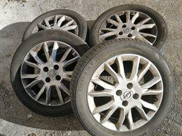 Cerchi in lega originali Opel, R16 con gomme