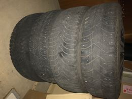 4 cerchi in ferro originali mini con pneumatici invernali