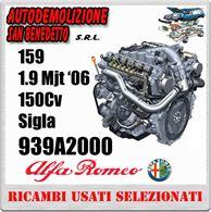Motore Alfa 159 1.9 Mjt '06 150cv