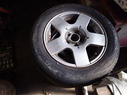 Ruote in lega con pneumatici, per golf